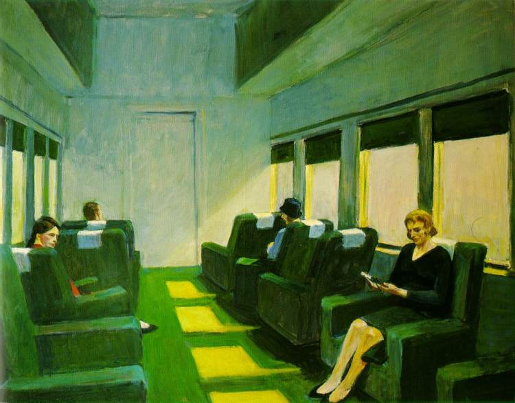 Chair Car (1965) – Edward Hopper