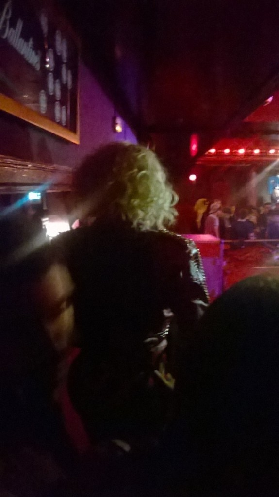 Sharon Needles' Back