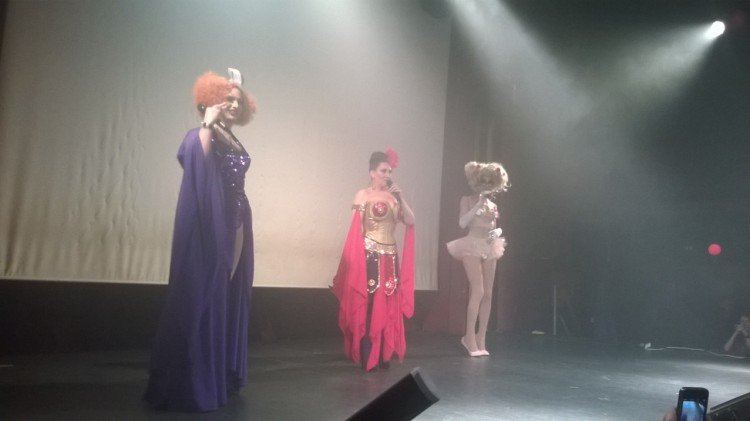 Jinkx Monsoon, Michelle Visage, and Alaska
