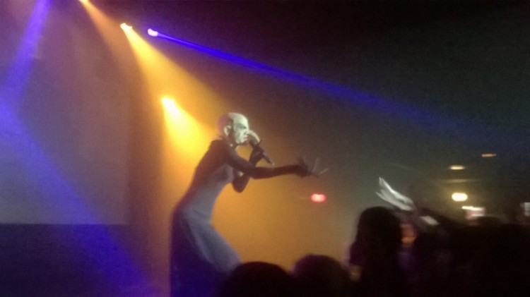 Sharon Needles performing